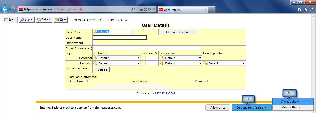 Setting up and Configuring NEOSYS Generally - NEOSYS User Support Wiki