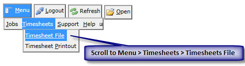 using neosys timesheets system neosys user support wiki